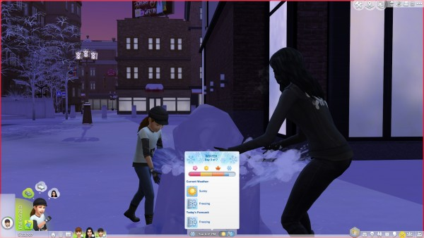 Mod The Sims: Improved Weather Variety for Worlds by Peterskywalker