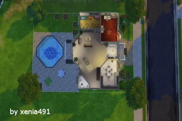 Blackys Sims 4 Zoo: Asphalt domicile by xenia491