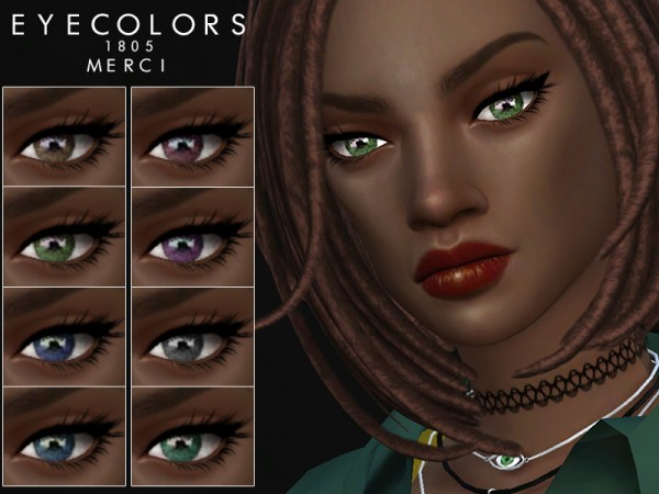 The Sims Resource: Eyecolors 1805 by Merci