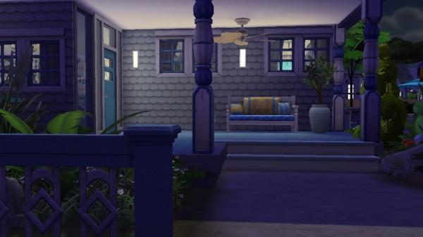 Luniversims: Bleu Ocean house by LouSims