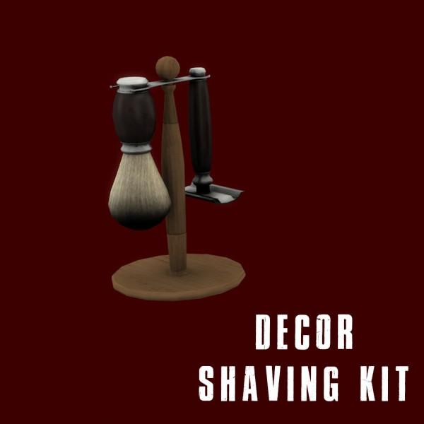 Leo 4 Sims: Shaving kit