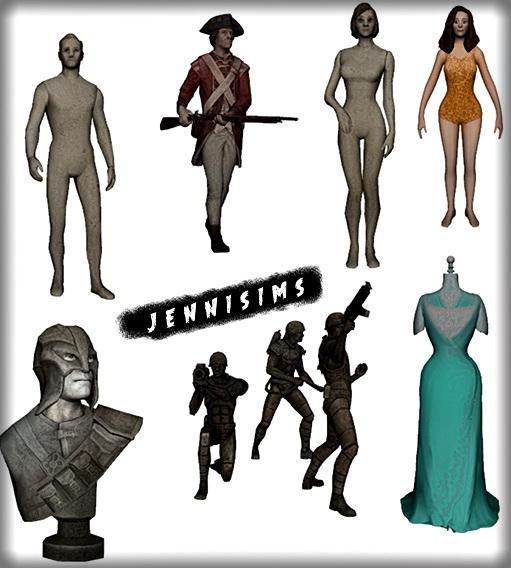 Jenni Sims: Mannequin Sets
