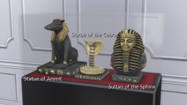 Mod The Sims: Egyptian Relics by TheJim07