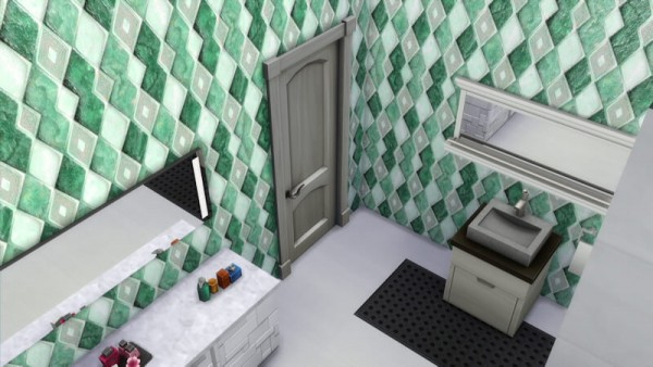 La Luna Rossa Sims: Rhombus Wall Tiles