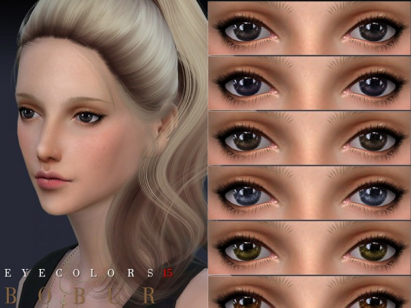 The Sims Resource: Eyecolors 15 by Bobur