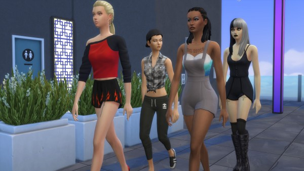 Mod The Sims: BAD BXTCH Tattoo Set by paksetti