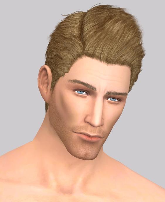 Simsworkshop: Chuck Greene by deathbywesker