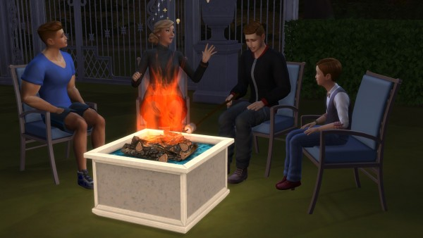 Mod The Sims: Fire Pits by TheJim07