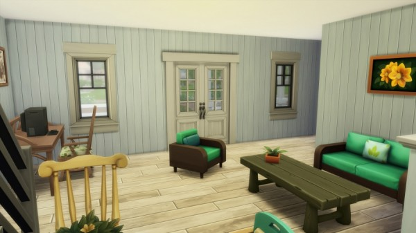 Sims Artists: Spring starter house