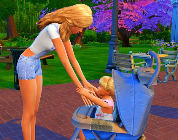 Msq Sims Stroller Pose Pack Sims 4 Downloads
