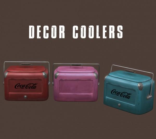 Leo 4 Sims: Decor cooler