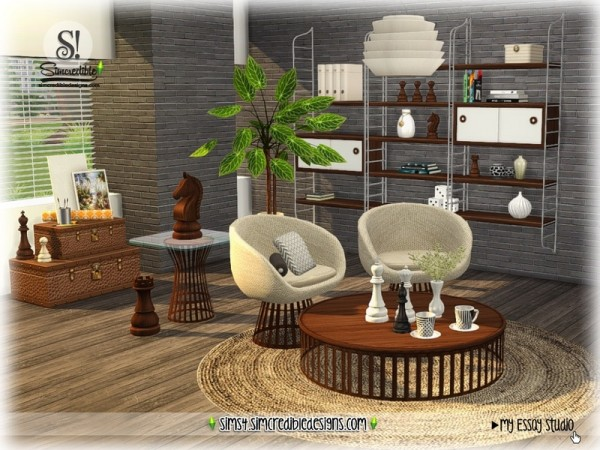 The Sims Resource: My Essay decor by SIMcredible!