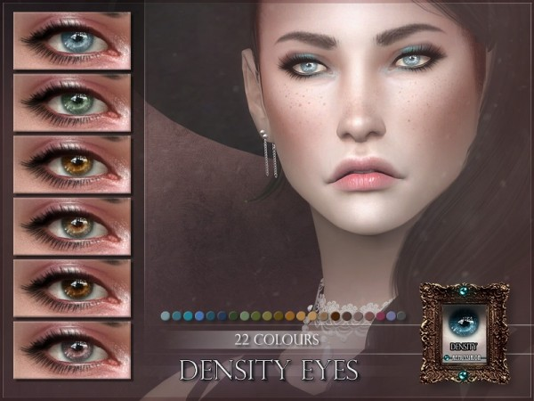The Sims Resource: Density Eyes by RemusSirion