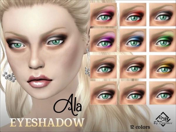 The Sims Resource: Ala Eyeshadows by Devirose