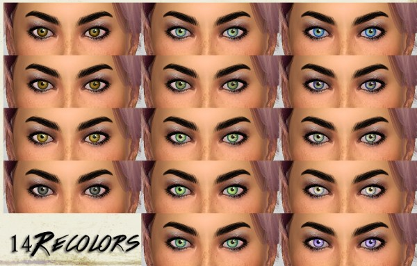 Mod The Sims: Redux Eyes  by TheMuseSway