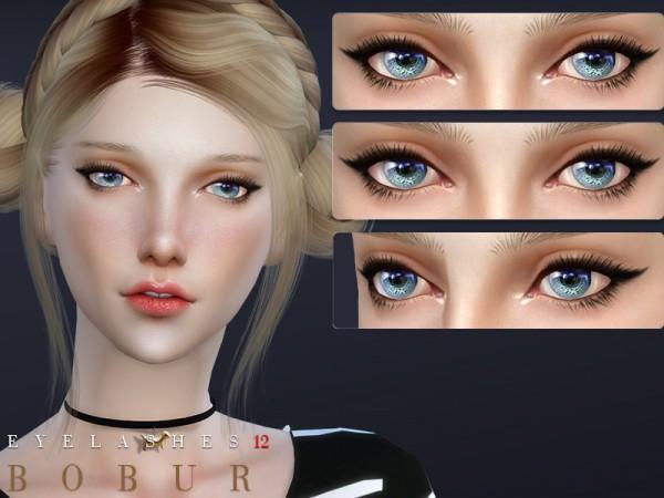 The Sims Resource: Eyelashes 12 by Bobur