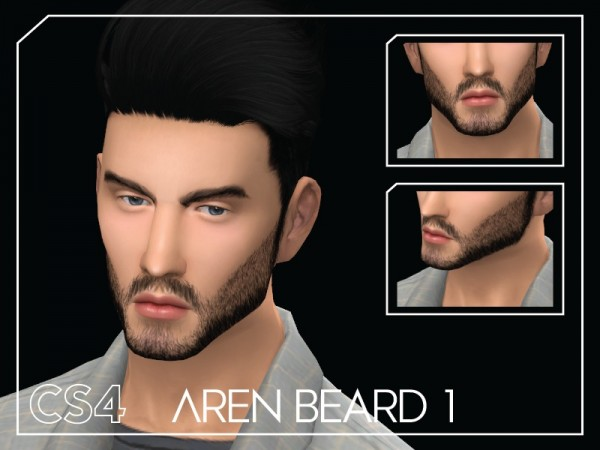 The Sims Resource: Aren Beard 1 by Choi Sims 4