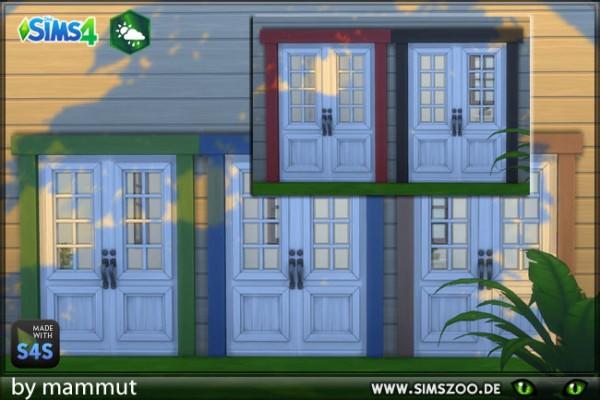 Blackys Sims 4 Zoo: Doors by mammut