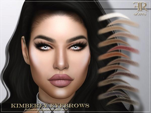 The Sims Resource: Kimberly Eyebrows by FashionRoyaltySims