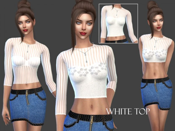 The Sims Resource: WhiteTop by Sims House
