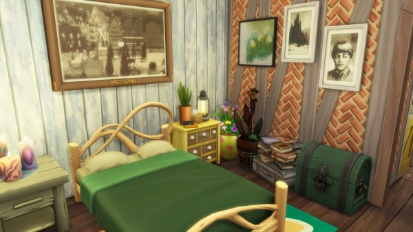 Sims Artists: The bucolic barn