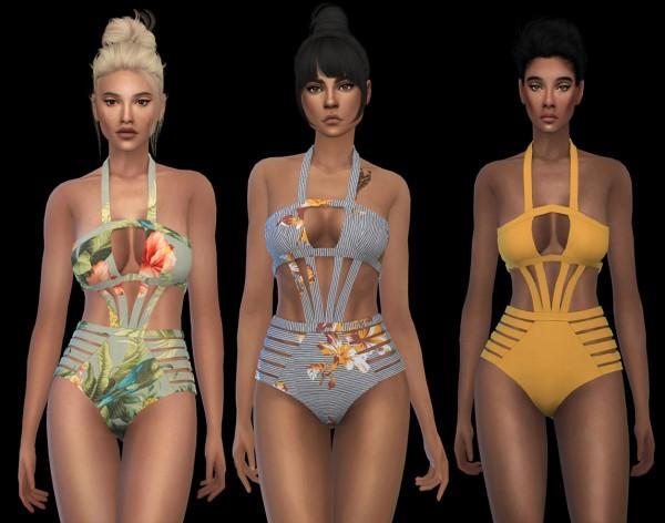 Leo 4 Sims: Crab swimsuit