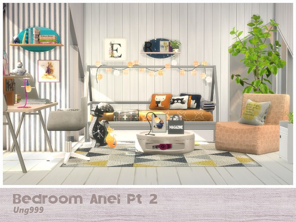 The Sims Resource: Bedroom Anel Pt. 2 by ung999