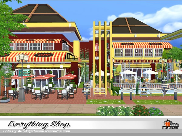 The Sims Resource: Everything Shop by Autaki