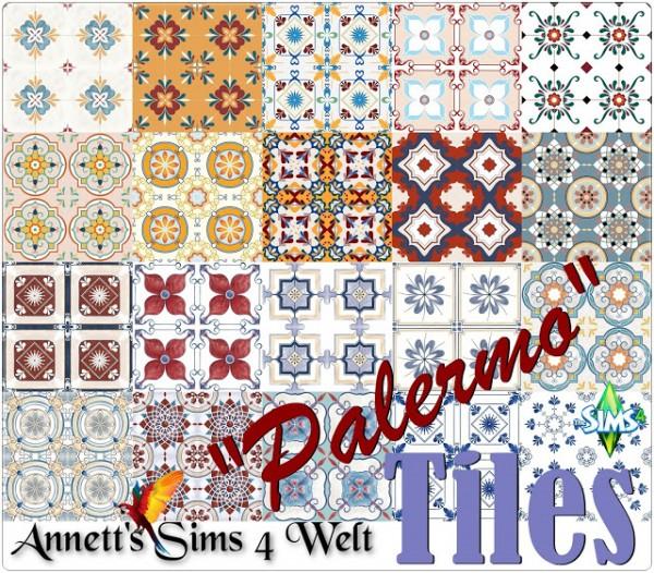 Annett`s Sims 4 Welt: Tiles Palermo