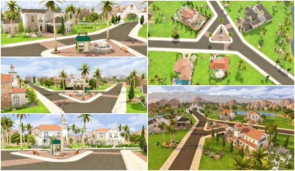 Via Sims: Oasis Springs Makeover