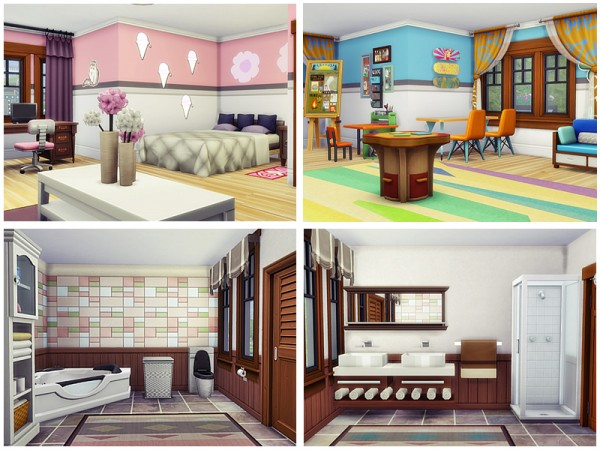 The Sims Resource: Contemporary cottage by Danuta720