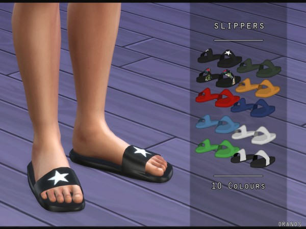 The Sims Resource: Slippers by OranosTR