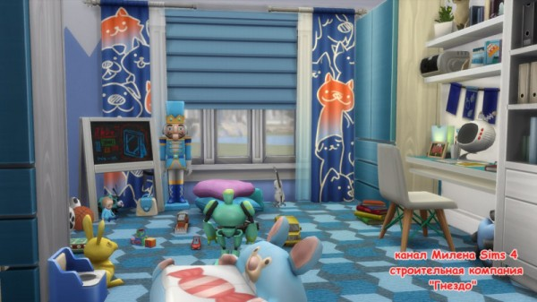 Sims 3 by Mulena: Boys room