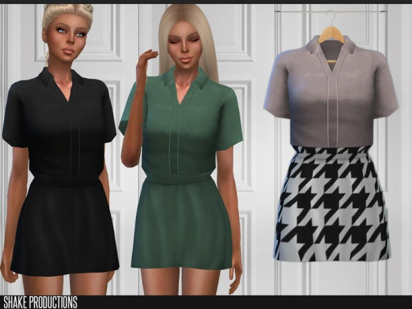 The Sims Resource: Dress 167 by ShakeProductions