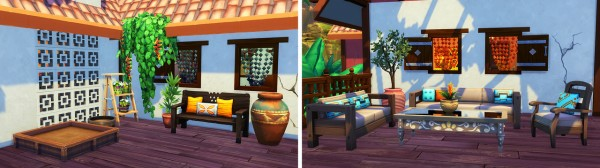 Aveline Sims: Jungle Family Retreat