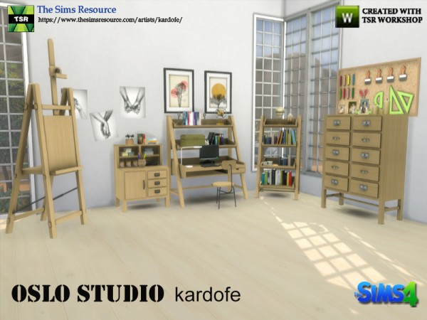 The Sims Resource: Oslo Studio by kardofe