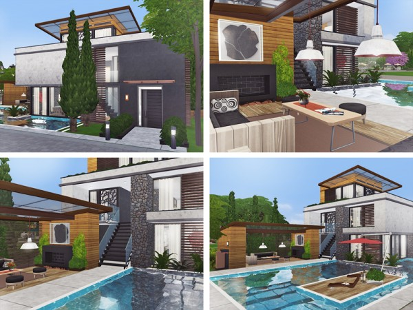 The Sims Resource: Lecia house by Rirann