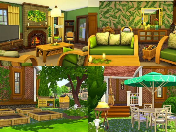 The Sims Resource: Tiny Cottage   Nocc by sharon337