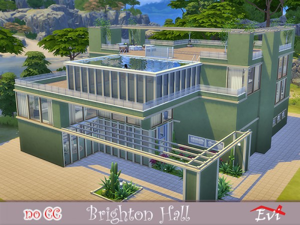 The Sims Resource: Brighton Hall by Evi