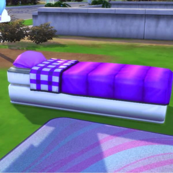 Simsworkshop: Purple AirKushin Single by MsWigglySimmer