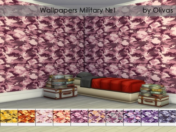 The Sims Resource: Wallpapers Set Military by olivas