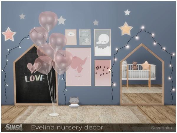 The Sims Resource: Evelina nursery decor by Severinka