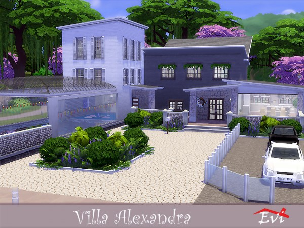 The Sims Resource: Villa Alexandra by evi