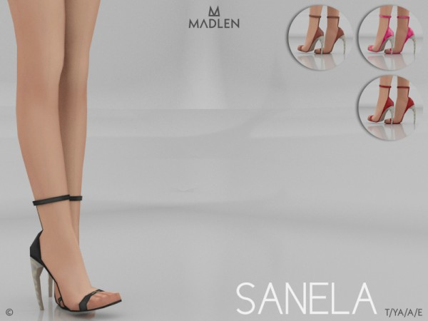 The Sims Resource: Madlen Sanela Shoes by MJ95