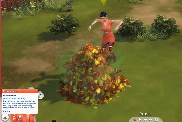 Mod The Sims: No More Gross Leaf Piles! by akacat