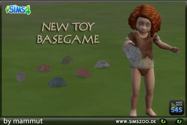Blackys Sims 4 Zoo: Stone Toy by mammut