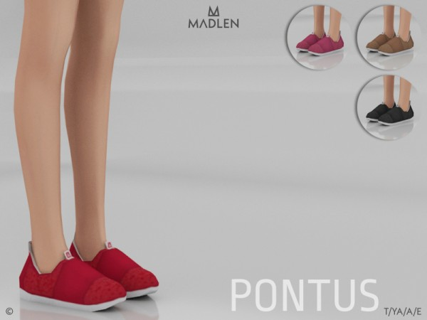 The Sims Resource: Madlen Pontus Shoes by MJ95
