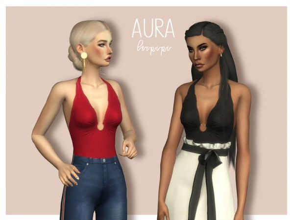 The Sims Resource: Aura Bodysuit by laupipi