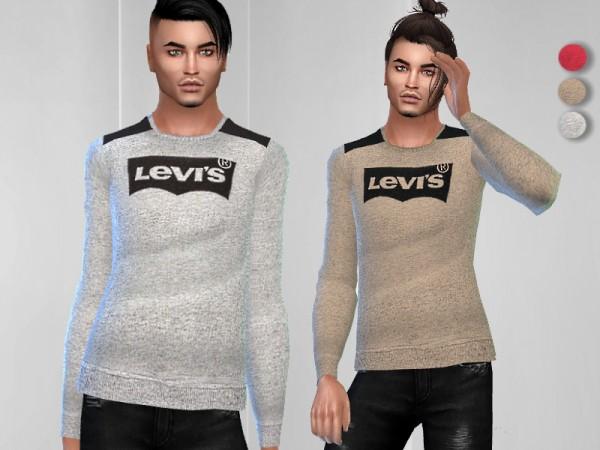 The Sims Resource: Classic Logo Sweatshirt by Puresim