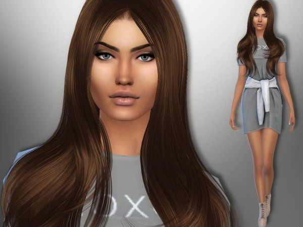 The Sims Resource: Gracie Lopes by divaka45